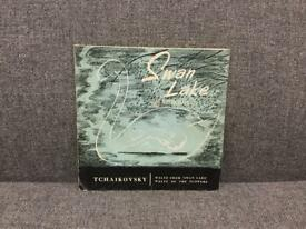 "Rare vintage SWAN LAKE Tchaikovsky LSE 2007 on Summit Records Vinyl ep 7"" SDHC"