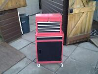 Four Wheeled Tool Cabinet