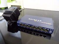 Netgear FS-108 8 port fast ethernet switch for home network/server