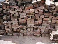 Reclaimed bricks 500 minimum