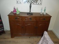 Lovely oak sideboard