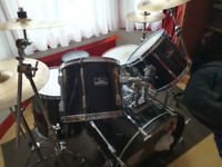 Pearl Export 6 Piece Black Drum Kit