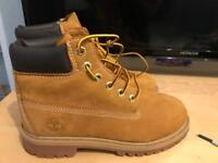 Timberland Boots (size 2 Junior)