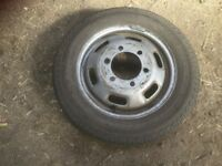 Commercial Tyre On Rim 195/65R- 16C Continental Vancouver 2