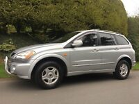 2008 SSANGYONG KYRON 2.0 DIESEL AUTOMATIC,JEEP 4x4!!