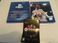 Fifa 18 and PlayStation plus 14 day free trial