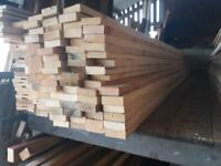 "3"" x 1"" timber 12ft lengths just £2 per length"