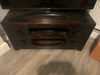 Dakota mango wood tv cabinet