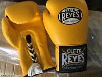 Cleto reyes boxing gloves winning too