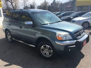 2005 Honda Pilot EX-L/AWD/7PASS/LEATHER/ROOF/LOADED/ALLOYS