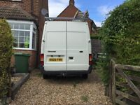 Ford Transit van In excellent mechanical condition. A few age related dings, very low mileage