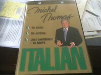 Italian Language course contains 8 CDs