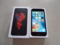 Apple Iphone 6s On O2 16GB Space Grey Warranty Until November Perfect Condition Complete Box Etc