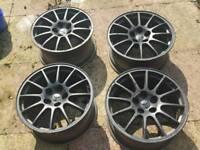 Evo alloy wheels set enkei rota Mitsubishi, Subaru, gtr