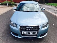 2006 Audi A3 Hatchback 2.0 TDI S Line Quattro 3dr With full service hsitory,Immaculate condition