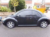 Volkswagen beetle 1.8 manuel Black