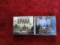 REDUCED - AUDIO BOOK - PATRICK BISHOP, WILLIAM BRODRICK