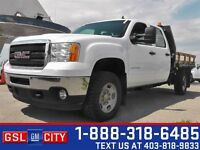 2014 GMC Sierra 3500HD WT - Flat Deck, Keyless Entry