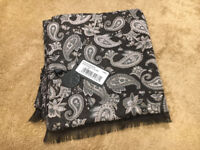 Men's Paisey Scarf from Pretty Green