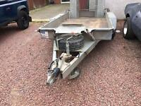 Here we have an Ifor Williams GH1054BT Plant Trailer. It is a January 2014 model.