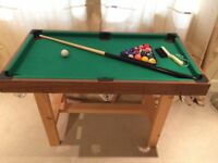 Kids Pool/Snooker Table Perfect as 1st Snooker Table