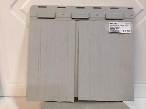 Revêtement extérieur Nailite cedar pride panel - Gris cendre