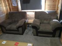 2x dfs electric recliners