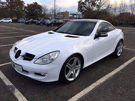 2005 Mercedes SLK 200 Auto Kompressor Gloss White Wrap with Red Leather Interior HPI CLEAR SLK200
