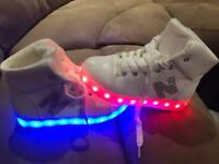 Girls light up shoes