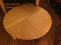 Coffee table Oak veneer