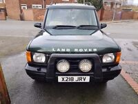 BREAKING LAND ROVER DISCOVERY 2 TD5 ES AUTO