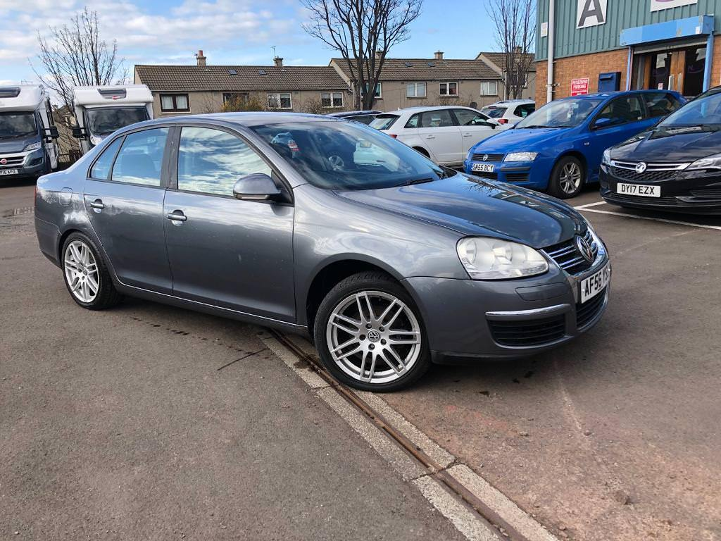 VOLKSWAGEN JETTA 1.9 TDI - ONLY DONE 83K- COMES WITH FULL YEAR MOT + 3 MONTHS WARRANTY+FRESH SERVICE