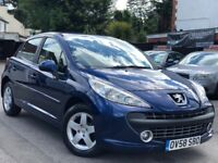 Peugeot 207 1.4 Sport Manual 1 Owner 3 Months Warranty Log MOT
