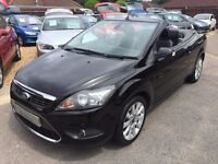 FORD FOCUS CC 2.0 TDCi CC-3 CABRIOLET 3 DOOR BLACK, GREAT SPECLOOKS AND DRIVES REALLY WELL