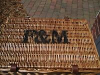 Fortnum & Masons wicker hamper