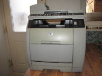 HP LaserJet 2840 Network Colour Laser Printer comes with power lead