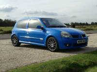 Clio 182 racing blue great spec