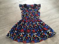 Girls M&S Party Dress Age 8-9