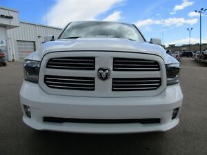 2015 Ram 1500 CREW CAB SPORT 4x4 LEATHER / SUNROOF / CAMERA Edmonton Edmonton Area image 3