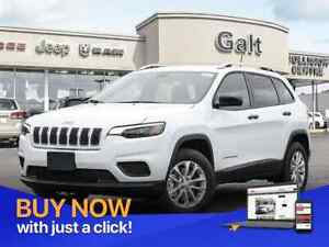 2019 Jeep New Cherokee SPORT 4X4 | UCONNECT COLD WEATHER GRP