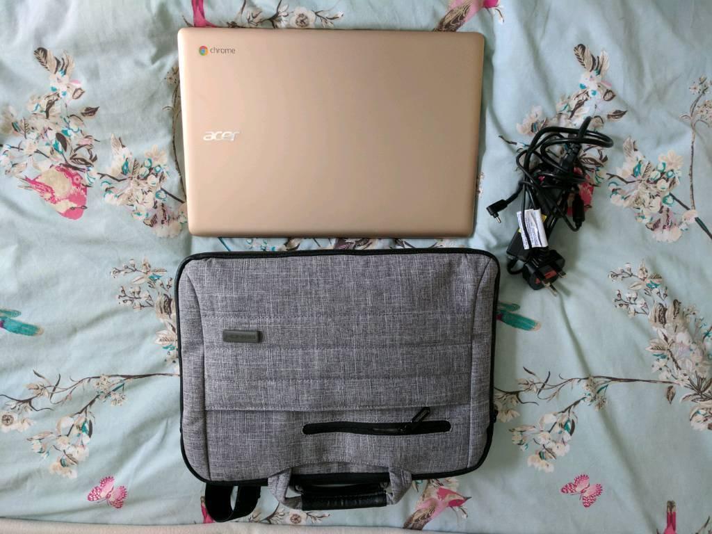 Acer Chromebook 14 CB3-431 14-Inch Notebook - (Gold) 2 GB RAM, 16GB, Chrome OS)