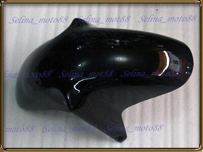 Front Fender Mudguard Hugger Fairing For Suzuki GSXR600 GSXR750 1996-1999 Black
