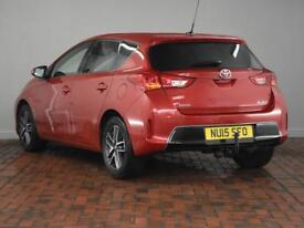 TOYOTA AURIS 1.33 Dual VVTi Icon+ 5dr (red) 2015