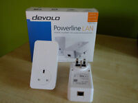 Pair of Devolo Powerline LAN 1200+ adapters