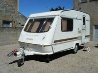 1993 Elddis Wisp 400/2 berth caravan Remote Control mover, Alko stabiliser tow hitch