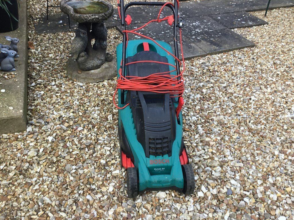 BOSCH ROTAK ELECTRIC MOWER
