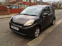 2006 Daihatsu Sirion 1.0 Black £30 tax manual aircon