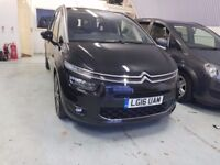 CITROEN C4 GRAND PICASSO 2016 AUTOMATIC EXCLUSIVE PCO LICENSED UBER XL 7 SEATER CAR FOR SALE