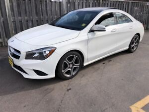2014 Mercedes-Benz CLA-Class 250, Auto, Leather, Panoramic Sunro