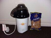 Popcorn Maker and popcorn kernels - £5